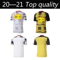 2020 Ghana Soccer Jerseys Mens National Team Thomas Schlupp J.Ayw Kudus Home White Away Yellow Black Football Camicia a manica corta
