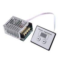 وصول AC 220V 4000W SCR الثايرستور الرقمية التحكم الإلكترونية الجهد المنظم
