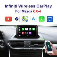 Бесплатный автомобиль Carplay интерфейс поддержки iPhone Android Auto Youtube видео на 2014-2020 годов Mazda CX-4