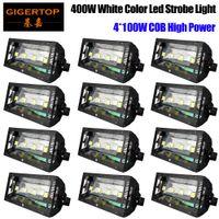 Супер ярко-белый стробоскоп свет 400W светодиодный этап эффект света автоматическая звуковая активированная партия DJ диско вечеринка KTV этап фонари