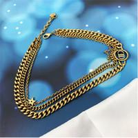 Классический двухслойный браслет женский высококачественный свет роскошный стиль All-Match Bractelet