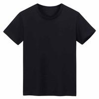 Mens Camiseta Casual T-shirt New Masculino Designer de Manga Curta T-shirt 100% Algodão Alta Qualidade Atacado Preto e Branco Tamanho M ~ 3xL H05