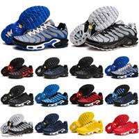 뜨거운 판매 TN Plus 2020 New Mens KPU 신발 통기성 메쉬 Chaussures Homme TN 스포츠 신발 Requin 러닝 신발 슈퍼