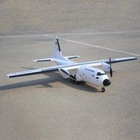 Обновление C-160 CargoTrans Twin Hercules 1120mm Wingspan EPOS Warbird Transport RC Вертолет Kit для детей Детские игрушки подарки 201103