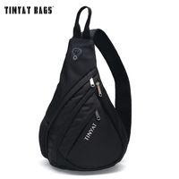 USB Men Bag Pack Waterproof Sling TINYAT Messenger Shoulder Crossbody Qogna