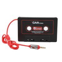 السيارات سيارة كاسيت لاعب الشريط محول كاسيت مشغل mp3 محول لأجهزة أي بود ل iPhone mp3 aux كابل cd مشغل 3.5 ملليمتر جاك المكونات