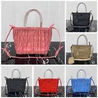Haut de la haute qualité Prad Canvas Hobo pour les femmes Sac à bandoulière pour femmes Pack Pack Lady Tote Tote Chains Sacs à main Presbyopic Sac à main Messenger Sac à main
