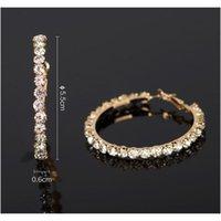 2017 New Designer Women Gold Sliver Hoop Earrings Fashion Jewelry Earrings For Women F sqcAzE homes2007