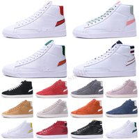 Blazer Mid منتصف 77 خمر أحذية رجالي أزياء المرأة لديها لعبة جيدة الحرارية الأبيض الأخضر الأسود habanero حذاء رياضة حمراء في الهواء الطلق