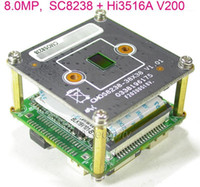 "Kameralar 8.0MP 8MP 4K H.265 IPC 1 / 2.7 ""SmartSens SC8238 CMOS Sensörü + HI3516A V200 IP CCTV Kamera PCB Kurulu Modülü (İsteğe Bağlı Parçalar) 1"