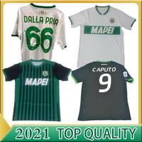 Nouveau 20 21 maillots de football Sassuolo Locatelli Berardi 100ème Centenary Boga 2020 2021 Maglietta Calcio Traore 2020 2021 Football Shirts S-2XL