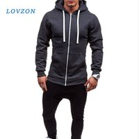 Sweats à capuche Mens Hommes Sweat Sweat-shirt Slim Vestes Slim Vestes Hip Hop Hoodies Sportswear TrackSuit Vêtements Cadre Casual