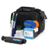 8 in 1 Orientek TCI-8E FTTH Optic Tool Kit Faserinspektion Mikroskop + Optisches Leistungsmesser + VfL + Cleaner Cassette FedEx Shipping1