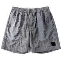 Pantaloncini da uomo in nylon in nylon in metallo Pantaloncini da uomo Brand Brand di alta qualità Summer Beach Pants Casual Capris