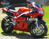 Per Suzuki Aftermarket Fairing Red 1997 1999 GSXR 600 GSX R600 SRAD GSXR750 GSXR600 GSX-R600 1996 1996-2000 Motociclista 96-00 carent