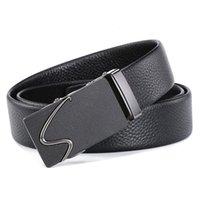 Taobao-Ledergürtel für Herren Tiktok, Gürtel, Hot-Knopf, Taillenband, Kopfmantel, Rindsleder usw.
