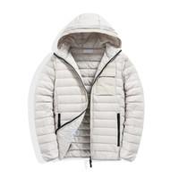 Topstoney 2020 Erkek Ceketler Rüzgarlık Sıcak Kapüşonlu Rahat Moda Kış Ceket Aşağı Ceket Ince Kapşonlu Aşağı Ceket