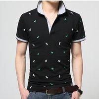 Verão mens polo camisa de algodão bolinhas curto macho masculino homens homens toe toe seco tamanho m -3xl mull moda de marca