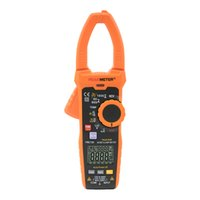 멀티 미터 Peakmeter PM2128 6000 Counts True RMS AC DC 전류 1000A 1000V Ammeter 자동 범위 멀티 미터 디지털 클램프 미터