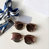 2020 رجل امرأة نظارات نظارات شمسية للإنسان للمرأة occhiali دا الوحيد firmati الزجاج جودة عالية النظارات مع القضية والصندوق