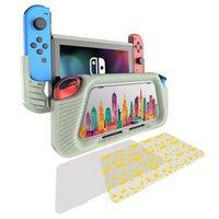 Силиконовый защитный чехол против падения Защитная крышка для Nintendo Switch NS Game Console Joy-Con GamePad защитная оболочка