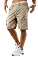 Pantaloncini da merci da uomo Homme Multi Pocket Relaxed Capri Pants Mens Streetwear Streetwear Hip Hop Style Abbigliamento