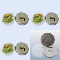 Metal Sublimação Emblema Magnético Emblema 58mm Impressão Thermel Thermal Fashion Moda Ima De Frigorífico Abridor de Garrafas 0 9DC J2