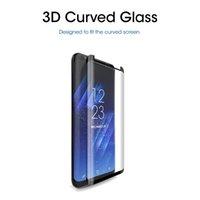 3D изогнутый телефонный чехол закаленного стекла защитник экрана для Samsung Galaxy S8 S9 PLUS S10 9H взрывозащищенная глянцевая анти