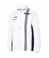 F1 Versión de ventilador Traje de carreras Spring / Winter Winter Chaqueta Soft Shell Jacket Chaqueta CHEQUE CAPIERTE SUPERIOR CUSTAL