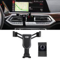 Für BMW X5 G05 x6 G06 x7 G07 2019 2020 2021 Auto Smart Handy Halter Luftlüftungskradle Mount Gravity Ständer für iPhone Samsung