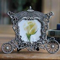 Cadres métal vintage photo classique petit po de châssis décoration europe home décor élimélim