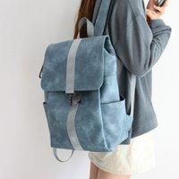 Hinuely Fashion Bohemia Женщины Сумка PU Кожа путешествия рюкзак Высококачественная школьная сумка для девочки SAC DOS FEMININA BG1591