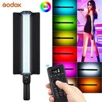 Godox LC500R RGB LED Video Stick CCT Mode CCT 360 ° 14 FX Efeitos de Iluminação TLCI 98 Precisão Cor Precisão 0-100% Modo de Música Dimmable1