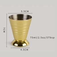304 Magic Bar Tools Tasse à mesurer avec 3 types d'en acier inoxydable gradué en acier inoxydable onces Mesures Bouteille Creative Balance à vin Cuisine 36 m2