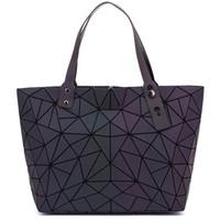 LOVEVOOK women shoulder bags large capacity foldable Totes female luxury handbags women bags designer geometric luminous bag
