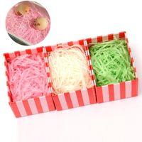 50 цветов бумаги Confetti измельченная извиненная бумага из морской бумаги наполнитель сухой соломенные подарочные коробки наполнитель материал для украшений свадьбы