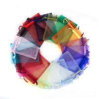 Venda quente bolsas de jóias festa de casamento festa de natal sacos de presente moda 26cm saco saco de estilo coração 11 cores Escolha # 007