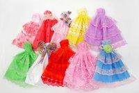 لطيف 29CM، 11 بوصة دمية الملحقات، فستان الزفاف الأميرة، لعبة طفل، أزياء تنورة قصيرة، 20 ملابس نمط، حزب عيد الميلاد فتاة عيد هدية، استخدام