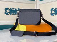 Mensageiro de couro genuíno sacos 3 pedaço conjunto de bolsa de ombro de moda bolsa para homens presbyópico mini pacote camera ombro homem homem