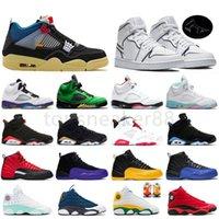 نوعية جيدة 1 ثانية أحذية كرة السلة 4 النيون الأسود 6 ثانية الدخان الرمادي الرجال 11 12 لعبة الانفلونزا 13s سوبر الملكي أحذية رياضية في الهواء الطلق