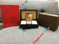 Hight 품질 PP 시계 원래 상자 논문 카드 나무 선물 상자 PP 노틸러스 Aquanaut 5711 5712 5990 5980 시계에 대 한 빨간색 가방 상자