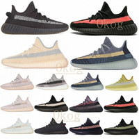 Tail Light Cinder Reflective yeezy yeezys yezzy yezzys 350 v2 boost Kanye West Men Women Running Shoes Yecheil Zebra Blue Tint Static Desert Sage Earth Sports Outdoor Shoe
