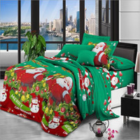 Christmas Gifts Bed Comforters Sets Luxury 3 pcs Home Bedding Set Jacquard Duvet Cover Bed Sheet Twin Single Queen King Size Bed Bedclothes