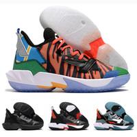 2021 Yeni Neden Zer0 değil. 4 Russell Westbrook 4 IV Ayna Erkek Basketbol Ayakkabı Sıcak Satış Eğitmenler 4 S Spor Sneakers Ayakkabı 40-46