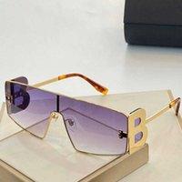 Linha simples de uma peça óculos de sol de quadro grande homens adequados para qualquer forma de rosto relaxado elegante óculos de sol quadrados