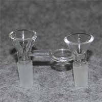 Galss Adaptador Convertidor para vidrio Bong 14mm 18 mm hembra a masculino Cuarzo Banger Banger Gross Forsted Pyrex Glass Glass Tubos de agua