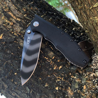 제로 공차 ZT 0562 Hinder Slicer Pocket Knife 일반 가장자리 블랙 핸들 EDC 캠핑 멀티 나이프