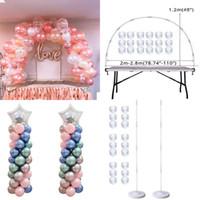 Parti Dekorasyon Düğün Masa Balon Kemer Seti Balon Sütun Standı Doğum Günü Süslemeleri Çocuk Balonlar Aksesuarları Dekor Ball1