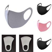 KTW Gökkuşağı Tek Kullanımlık Yüz Fantom Proof Duman Toz Geçirmez Nefes Katman Koruyucu Maske Opus Maskesi Maskeleri Moda Dokuma Olmayan Renk