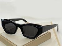 40027 Lunettes de soleil de mode rétro lunettes de soleil sans cadre Vintage punk style lunettes de lunettes de soleil de qualité supérieure de lunettes de soleil spéciales UV400 protection avec étui
